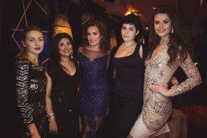 Olga Kravchenko (creative producer MISS USSR UK), Saira Hussein (Make up artist), Julia Titova, Aleksandra De-Vere, Samanta Panceravaite
